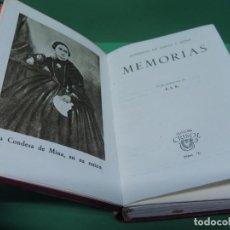 Libros de segunda mano: CONDESA DE ESPOZ Y MINA. MEMORIAS. 1944. (AGUILAR). Lote 192121930