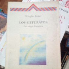 Libros de segunda mano: LOS SIETE RAYOS, DOUGLAS BAKER, ED. CRISALIDE. Lote 192134180