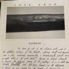 Libros de segunda mano: NAVIGLIO, JOSE ABAD. 1987. EDICIÓN DE 1500 EJEMPLARES. CANARIAS.. Lote 192149172