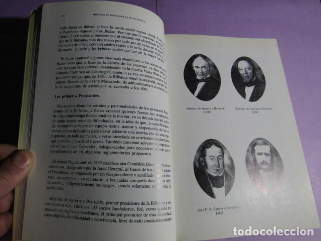Libros de segunda mano: LA SOCIEDAD BILBAINA 150 AÑOS; BASAS FERNANDEZ, Manuel - Foto 4 - 192164205