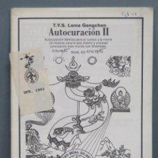 Livros em segunda mão: AUTOCURACION II. TANTRICA. LAMA GANGCHEN. Lote 192172528
