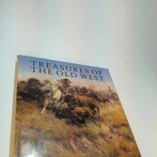 Libros de segunda mano: TREASURES OF THE OLD WEST. INDIOS. VAQUEROS. AMÉRICA. PINTURA Y ESCULTURA. PETER H. HASSRICK. 1994.. Lote 192193255