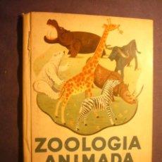 Libros de segunda mano: MARSILLACH (TEXTO), SUBIRATS (ILUSTRACIONES): - ZOOLOGIA ANIMADA. ALBUM II - (BARCELONA, 1950). Lote 192271975