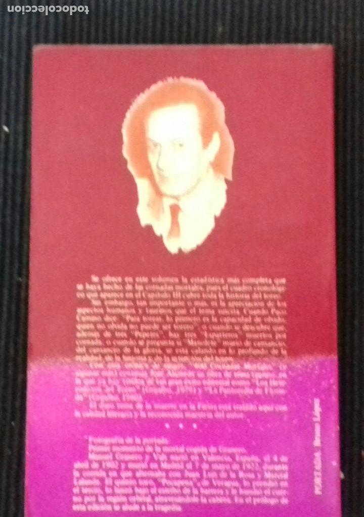 Libros de segunda mano: CRONICA DE SANGRE. JOSE ALAMEDA. 400 CORNADAS MORTALES Y ALGUNA MAS.GRIJALBO 1981 - Foto 2 - 192320853