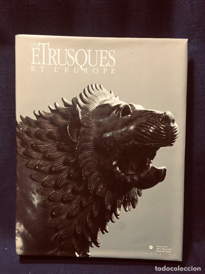 LES ETRUSQUES ET L'EUROPE MUSEES NATIONAUX ETRUSCOS Y EUROPA 1992 GRAND PALAIS PARIS 31,5X24CMS (Libros de Segunda Mano - Bellas artes, ocio y coleccionismo - Otros)
