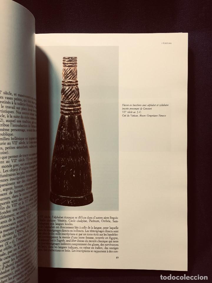 Libros de segunda mano: les etrusques et leurope musees nationaux etruscos y europa 1992 grand palais paris 31,5x24cms - Foto 3 - 192384146