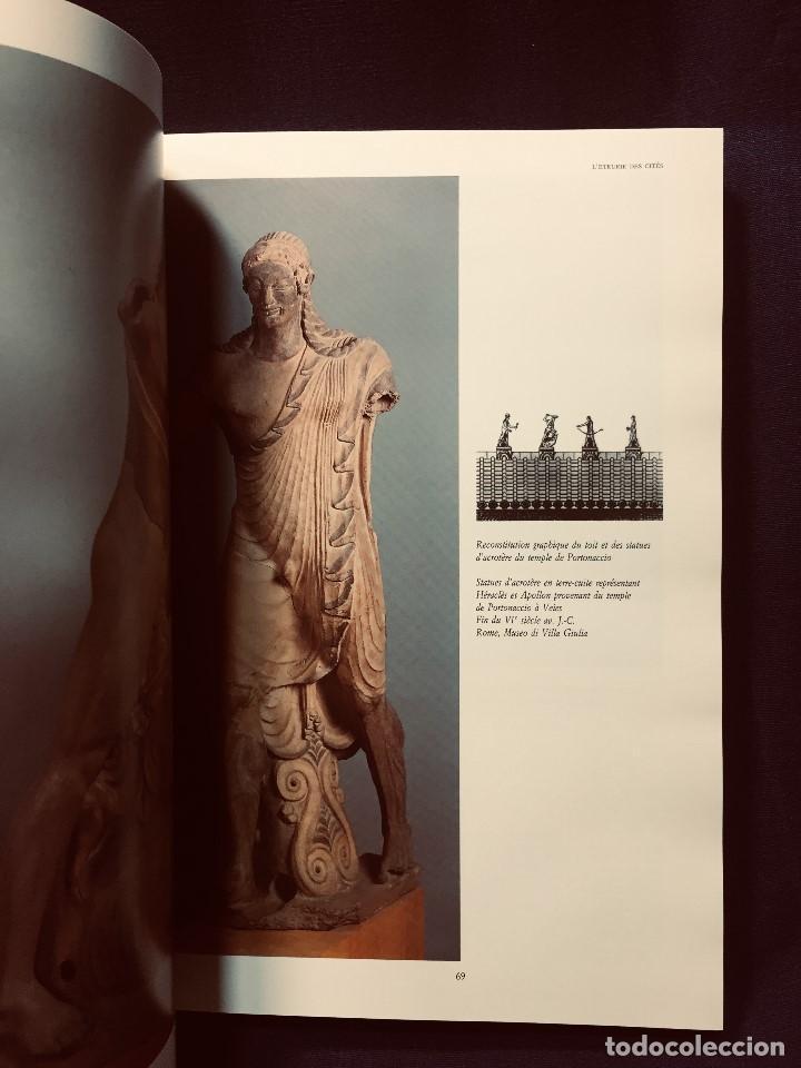 Libros de segunda mano: les etrusques et leurope musees nationaux etruscos y europa 1992 grand palais paris 31,5x24cms - Foto 4 - 192384146