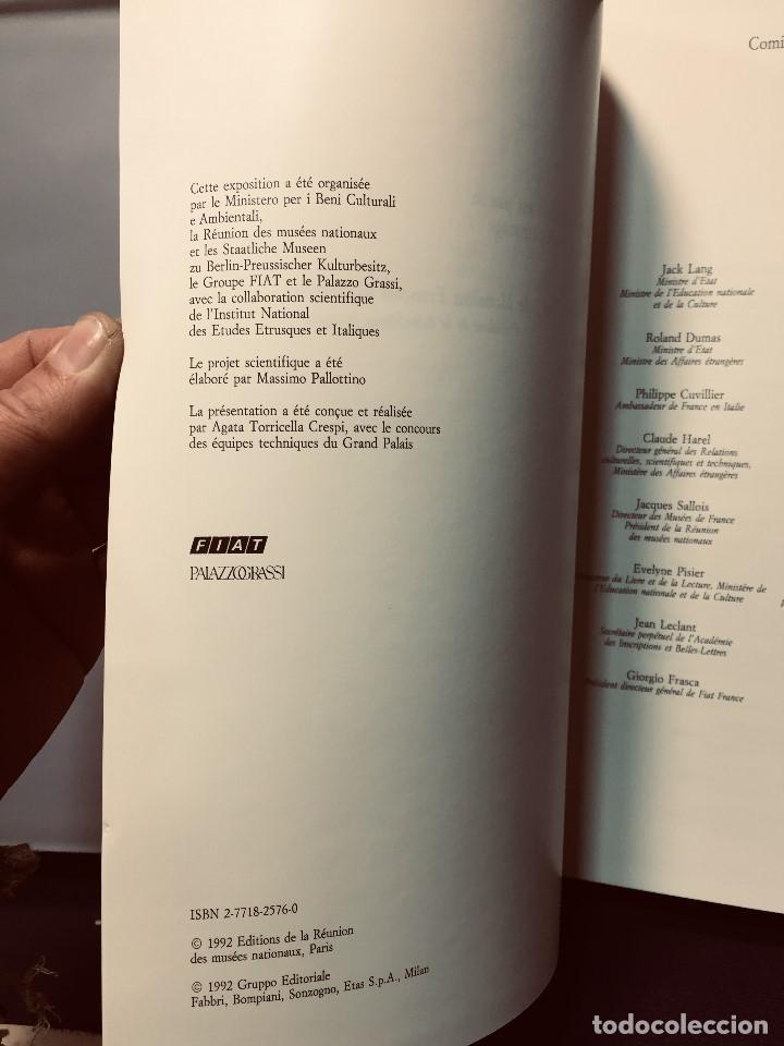 Libros de segunda mano: les etrusques et leurope musees nationaux etruscos y europa 1992 grand palais paris 31,5x24cms - Foto 5 - 192384146