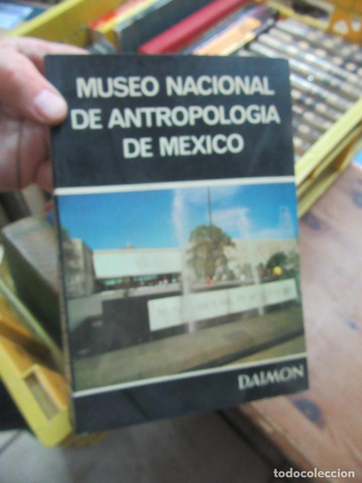 MUSEO NACIONAL DE ANTROPOLOGÍA DE MÉXICO, ED DAIMON. L.20724 (Libros de Segunda Mano - Ciencias, Manuales y Oficios - Otros)