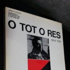 Libros de segunda mano: ANDREU CASTELLS. SABADELL INFORME DE L´OPOSICIO. O TOT O RES 1904-1918. RIUTORT SABADELL 1978.. Lote 192443300