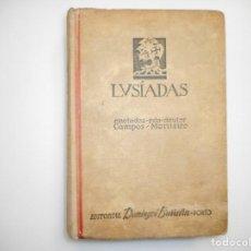 Libros de segunda mano: LUIS DE CAMÕES OS LUSIADAS (PORTUGUÉS) Y98249T. Lote 192450568