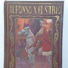 Livres d'occasion: PÁGINA BRILLANTES. ALFONSO X EL SABIO. Lote 192543186