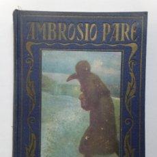 Livres d'occasion: PÁGINA BRILLANTES. AMBROSIO PARE. Lote 192543681