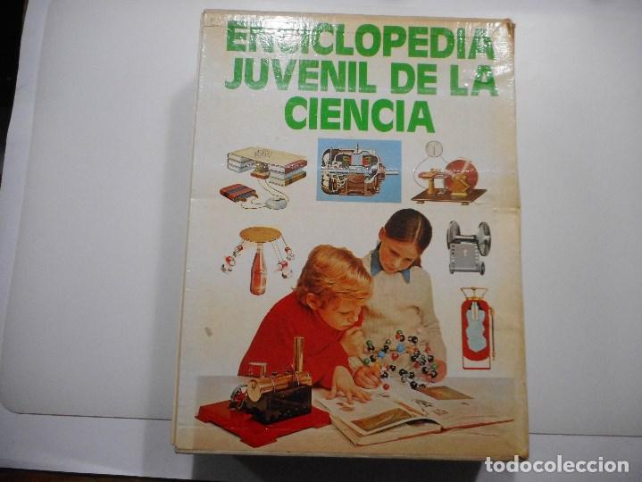 ENCICLOPEDIA JUVENIL DE LA CIENCIA (5 TOMOS EN SOBRE) Y98318T (Libros de Segunda Mano - Literatura Infantil y Juvenil - Otros)