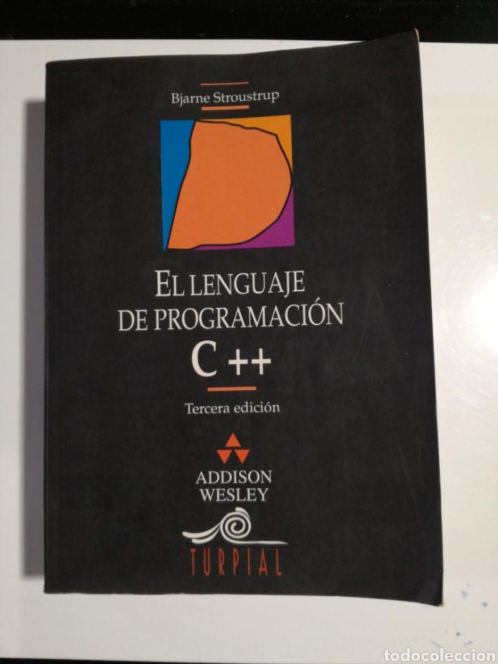 EL LENGUAJE DE PROGRAMACIÓN C++ BJARNE STROUSTRUP (Libros de Segunda Mano - Ciencias, Manuales y Oficios - Otros)