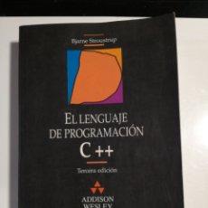 Livres d'occasion: EL LENGUAJE DE PROGRAMACIÓN C++ BJARNE STROUSTRUP. Lote 192652990