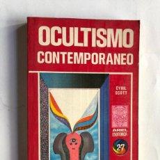 Libros de segunda mano: OCULTISMO CONTEMPORANEO / CYRIL SCOTT / ARIEL ESOTERICA AÑO 1976. Lote 192704138