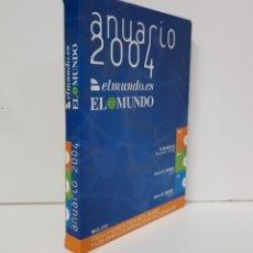 Libros de segunda mano: ANUARIO EL MUNDO 2004 ELMUNDO.ES (2 DVD-ROM + 1 CD-ROM). Lote 192707042