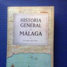 Libros de segunda mano: HISTORIA GENERAL DE MALAGA ENRIQUE DEL PINO. Lote 192715346