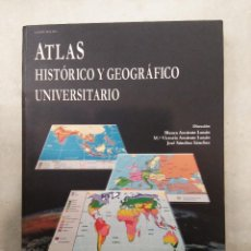 Livros em segunda mão: ATLAS HISTÓRICO Y GEOGRÁFICO UNIVERSITARIO. UNED, 2006. Lote 192716918