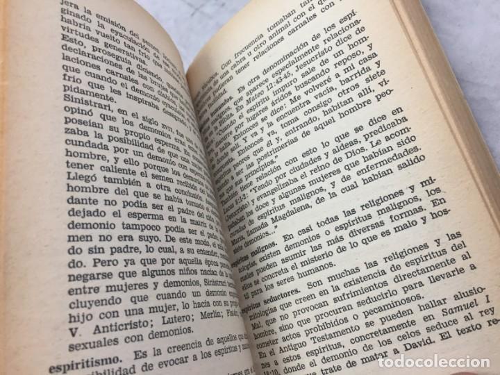Libros de segunda mano: Frederik Koning. Diccionario de Demonología. 1ª Edición Bruguera 1974 - Foto 5 - 192858580