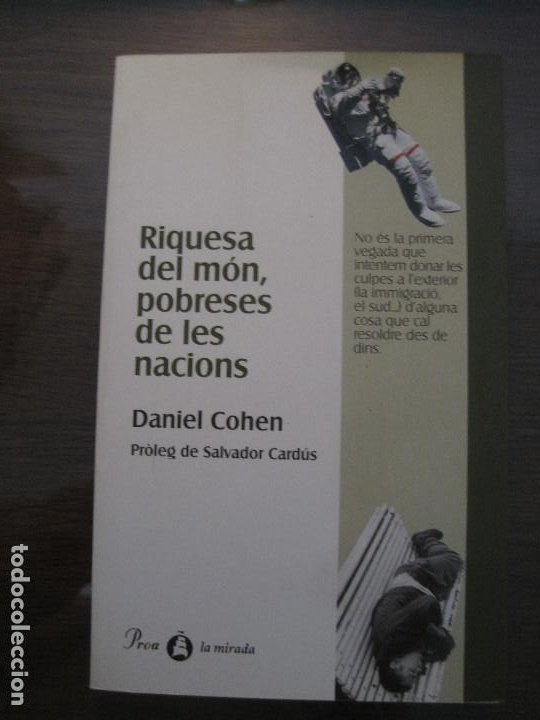 DANIEL COHEN - RIQUESA DEL MÓN, POBRESES DE LES NACIONS (Libros de Segunda Mano - Pensamiento - Otros)