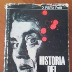 Libros de segunda mano: HISTORIA DEL ESPIONAJE - PASTOR PETIT (AYMÁ, 1967). 1ª EDICIÓN.. Lote 192950005