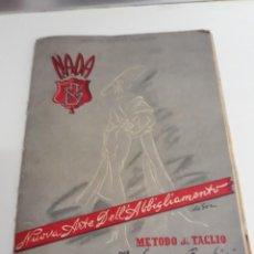 Libros de segunda mano: METODO DE CORTE Y COSTURA,1951. Lote 193113738