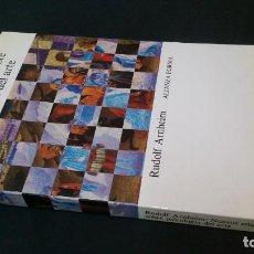 Libros de segunda mano: 1989 - ARNHEIM - NUEVOS ENSAYOS SOBRE PSICOLOGÍA DEL ARTE - ALIANZA FORMA. Lote 276739873