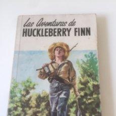 Libros de segunda mano: LAS AVENTURAS DE HUCKLEBERRY FINN. MARK TWAIN. Lote 193316528