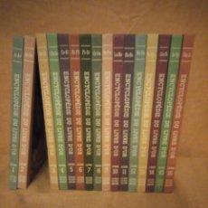 Libros de segunda mano: ENCYCLOPÉDIE DU LIVRE D'OR POUR GARÇONS ET FILLES,8ª9ªY10ª EDICIÓN 1970,FRANCES 16 TOMOS COMPLETA. Lote 193355225