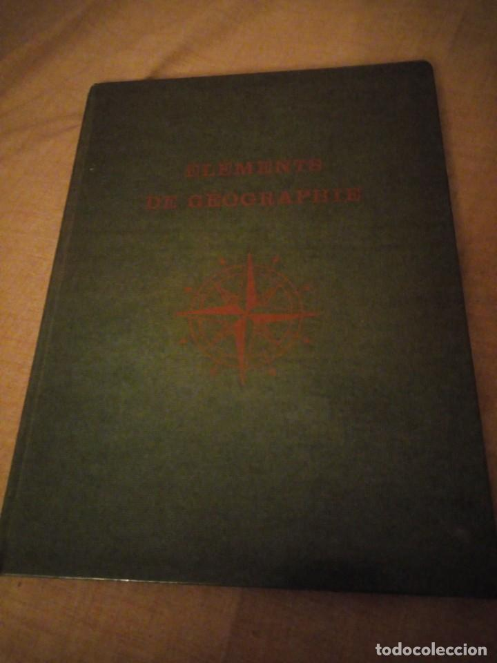 ELEMENTS DE GEOGRAPHIE ERIC DELLENBACH.ROLAND STAHLI 1958,FRANCES (Libros de Segunda Mano - Ciencias, Manuales y Oficios - Otros)