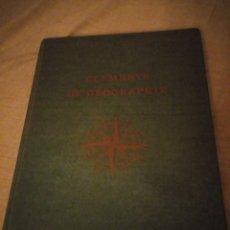 Libros de segunda mano: ELEMENTS DE GEOGRAPHIE ERIC DELLENBACH.ROLAND STAHLI 1958,FRANCES. Lote 193356775