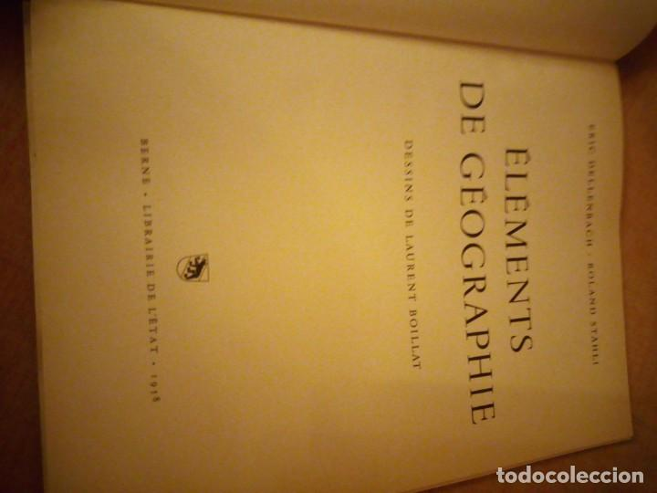 Libros de segunda mano: elements de geographie eric dellenbach.roland stahli 1958,frances - Foto 4 - 193356775