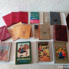 Libros de segunda mano: LOTE 16 LIBROS .DALMAU, SOCIOLOGIA,AUTOMOVIL, ENCICLOPEDIA, LECTURAS, GEOGRAFIA NATURALEZA. Lote 193444351