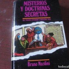 Libros de segunda mano: MISTERIOS Y DOCTRINAS SECRETAS - NARDINI - ADIVINACION - ESOTERISMO - NUEVO SIN USAR. Lote 193644182