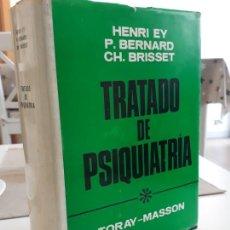 Libros de segunda mano: TRATADO DE PSIQUIATRÍA TORAY-MASSON. Lote 193645903