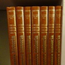 Libros de segunda mano: NUESTRA HISTORIA. COMUNIDAD VALENCIANA. EDICIONES TYRIS PARA EDIC. ARAMO 1.980 COMPLETA. 7 TOMOS. Lote 193678688