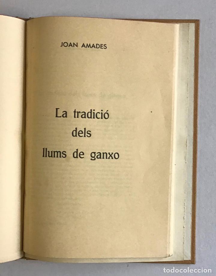 Libros de segunda mano: CIUTATS DE LLEGENDA. - AMADES, Joan. [4 títols en unu volum.] - Foto 5 - 193681933