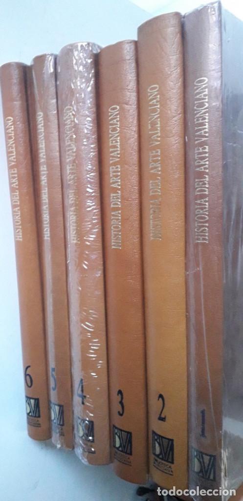 HISTORIA DEL ARTE VALENCIANO 6 TOMOS (BIBLIOTECA VALENCIANA 1986) EN CASTELLANO, COMO NUEVA (Libros de Segunda Mano - Bellas artes, ocio y coleccionismo - Otros)