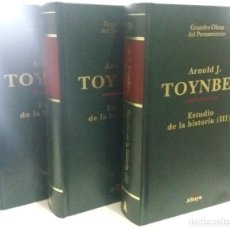 Libros de segunda mano: ESTUDIO DE LA HISTORIA - ( I, II Y III COMPLETO) - TOYNBEE, ARNOLD J.. Lote 193748193