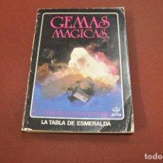 Livres d'occasion: GEMAS MAGICAS - CORNELIA PARKINSON - LA TABLA DE ESMERALDA - ES1. Lote 193802790