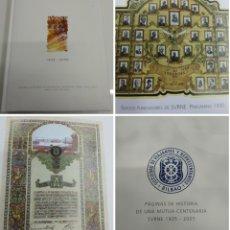 Libros de segunda mano: SVRNE 100 AÑOS 1905-2005 PAGINAS HISTORIA DE UNA MUTUA CENTENARIA MARIA JESUS CAVA ILUSTRADO RARO. Lote 193832172