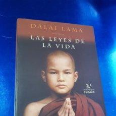 Libros de segunda mano: LIBRO-DALAI LAMALAS LEYES DE LA VIDA-MARTINEZ ROCA-3ªEDICIÓN-2001-EXCELENTE-VER FOTOS. Lote 193867576