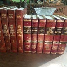 Libros de segunda mano: 6 NOVELAS VASCAS Y 4 TOMOS 3000 VIEJAS FOTOS PARA LA HISTORIA DE VIZCAYA. LA GRAN ENCICLOPEDIA VASCA. Lote 193886013