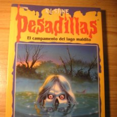 Livros em segunda mão: PESADILLAS Nº 54: EL CAMPAMENTO DEL LAGO MALDITO (R. L. STINE). Lote 193922228