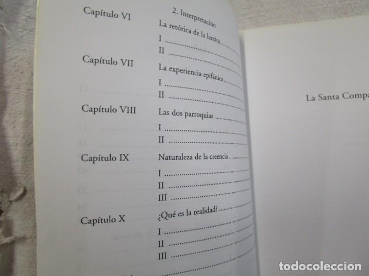 Libros de segunda mano: GALICIA - LA SANTA COMPAÑA - C. LISON TOLOSANA - AKAL 2004 317 PAG 18CM + INFO - Foto 3 - 193961545