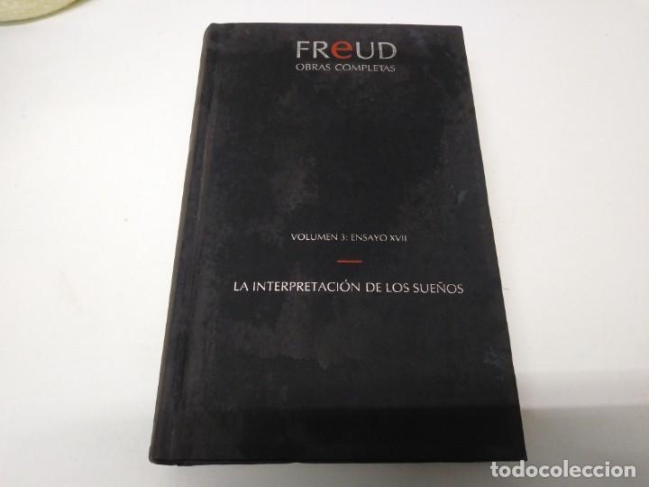 LIBRO FREUD VOLUMEN 3 ENSAYO XVII LA INTERPRETACIÓN DE LOS SUEÑOS ORBIS (Libros de Segunda Mano - Bellas artes, ocio y coleccionismo - Otros)