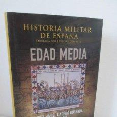 Libros de segunda mano: HISTORIA MILITAR DE ESPAÑA II. EDAD MEDIA. MIGUEL ANGEL LADERO QUESADA. MINISTERIO DE DEFENSA . 2010. Lote 194138273