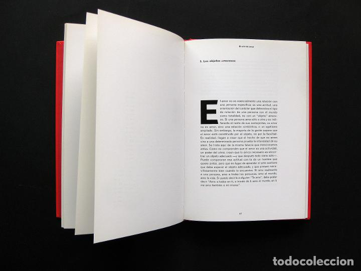 Libros de segunda mano: El arte de amar - Erich Fromm - Paidós Edición Centenario de E. Fromm - 1999 - Diseño de M. Eskenazi - Foto 4 - 194217497